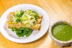 Fried Tacos friável Foto de Stock Royalty Free