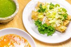 Fried Tacos friável Fotos de Stock Royalty Free