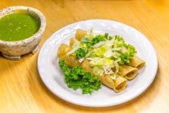 Fried Tacos friável Imagem de Stock Royalty Free
