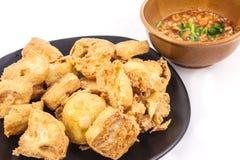 Fried Tafu Royalty Free Stock Photo