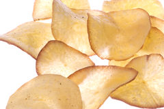 Fried Tapioca Isolated Royalty Free Stock Photos