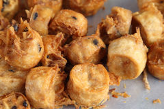 Fried Taro Royalty Free Stock Images