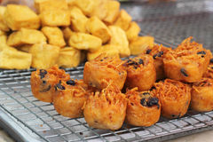 Fried taro - chinese style Stock Photography