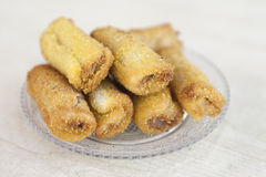 Fried Taro Paste Royalty Free Stock Images