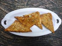Fried tempe Royalty Free Stock Photos