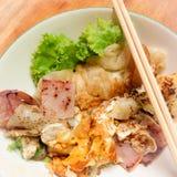 Fried Thai vegetable Royalty Free Stock Photos
