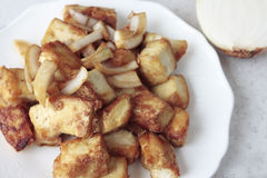 Fried Tofu Stock Image