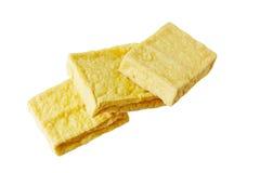 Fried Tofu Stock Photo