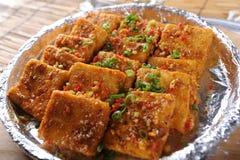 Fried Tofu Royalty Free Stock Image