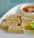 Fried tofu Royalty Free Stock Image