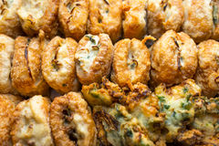 Fried Tofu Stock Photography