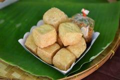 Fried tofu Royalty Free Stock Images