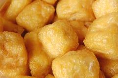 Fried tofu beancurd Stock Images