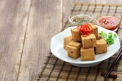Fried tofu Royalty Free Stock Photos