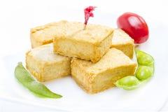 Fried tofu. Royalty Free Stock Photos