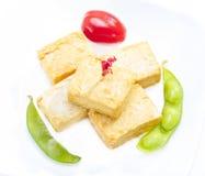 Fried tofu. Stock Images