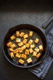 Fried tofu Royalty Free Stock Photo