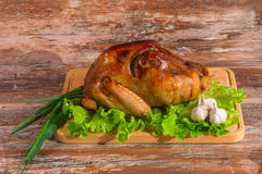 Fried turkey with vegetables Royalty Free Stock Photos