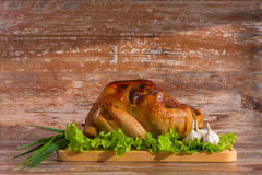 Fried turkey with vegetables Royalty Free Stock Image