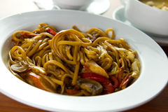 Fried udon Royalty Free Stock Photos