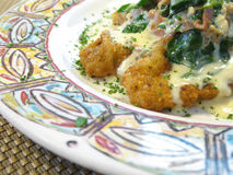 Fried veal Stock Images