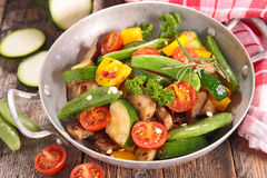 Fried vegetable Royalty Free Stock Photo