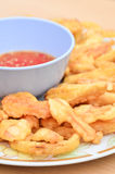 Fried Vegetable Royalty Free Stock Image