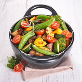 Fried vegetable Royalty Free Stock Images