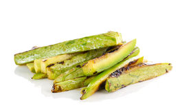 Fried vegetable marrow Stock Image