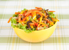 Fried vegetables Stock Photography