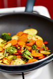 Fried vegetables Royalty Free Stock Image