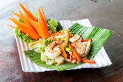 Fried Vegetables Stock Image