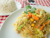 Fried vermicelli Royalty Free Stock Photography