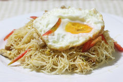 Fried vermicelli Royalty Free Stock Photos
