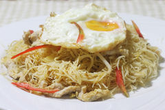 Fried vermicelli Stock Photos