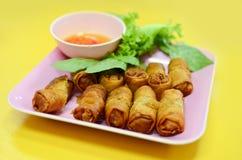 Fried Vietnamese spring rolls Stock Image