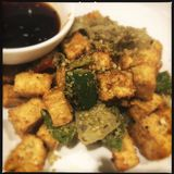Fried Vietnamese-tofu stock afbeeldingen