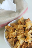 Fried wantan Royalty Free Stock Photography
