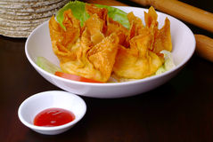 Fried Wanton Stock Photos
