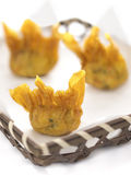 Fried wantons Royalty Free Stock Images