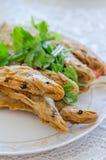 Fried Whisker Sheatfish Royalty Free Stock Photos