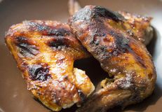 Fried wings Stock Images