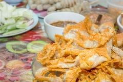 Fried Wonton Stock Image