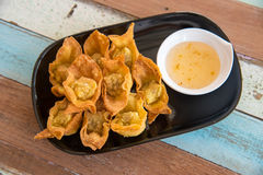 Fried wonton Stock Photos