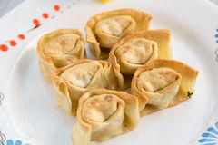Fried wonton Stock Image