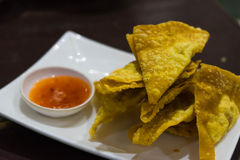 fried wontons Stock Images