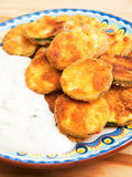 Fried zucchini Stock Images