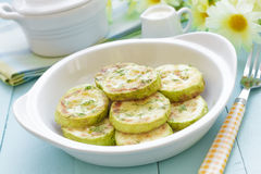 Fried zucchini Royalty Free Stock Photography