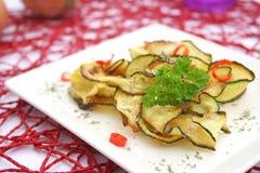 Fried zucchini Stock Image