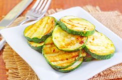 Fried zuccini Stock Image